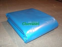 Fólie Ginegar modrá 6x5,5m